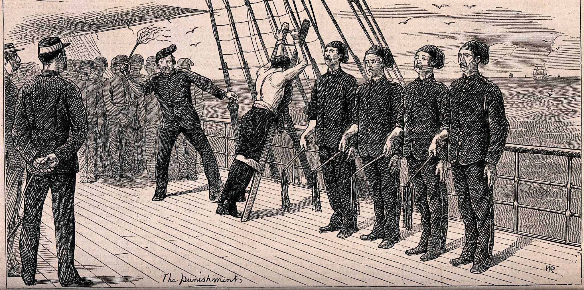 An Introduction to Punishment in Aubrey's Royal Navy | The Dear Surprise
