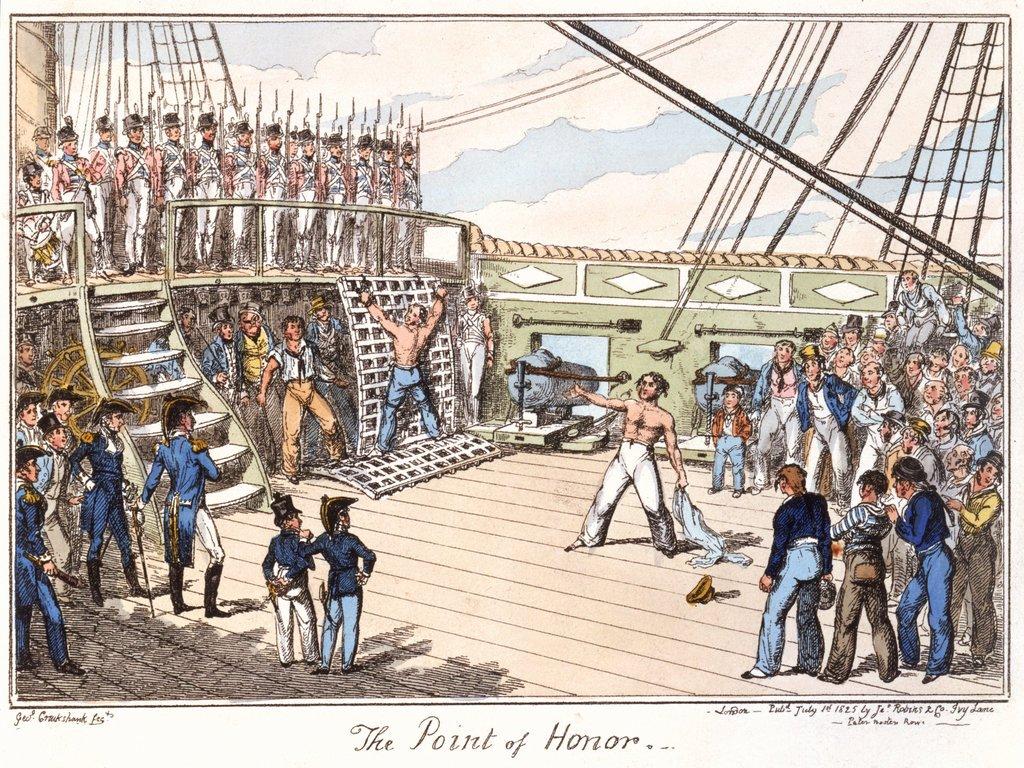 Naval Punishment for Boys: