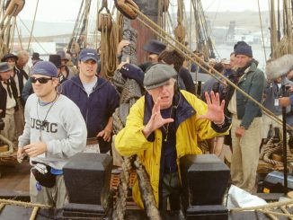 Peter Weir behind the scenes of Master and Commander: The Far Side of the World